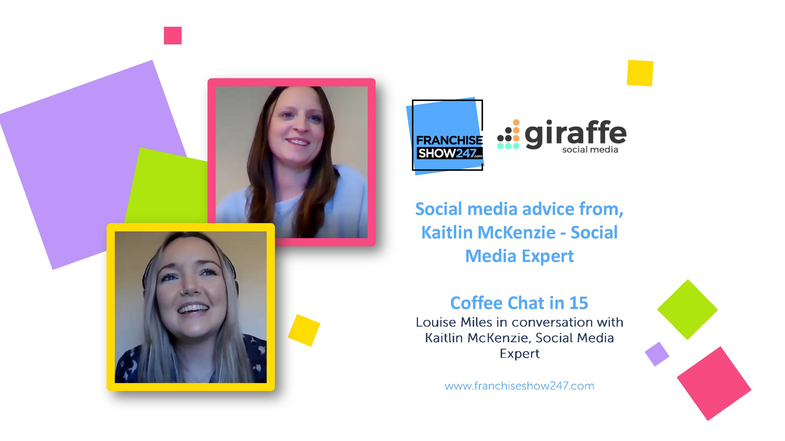Social media advice from, Kaitlin McKenzie – Social Media Expert