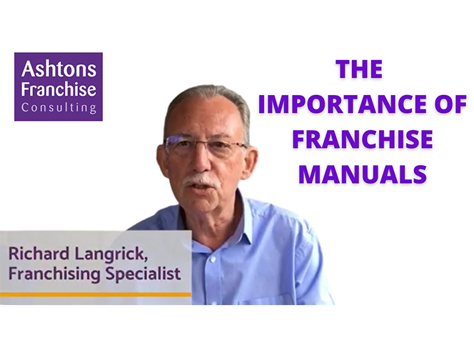 The importance of franchise manuals