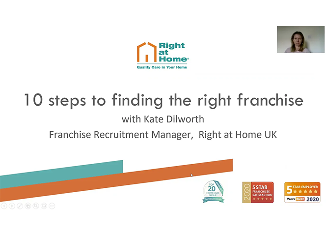 10 steps to finding the right franchise